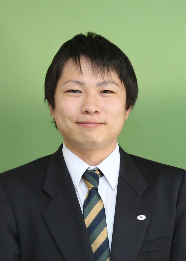 看護学科 3年 俵積田 将汰さん